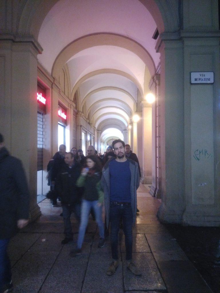 pórticos en Bolonia
