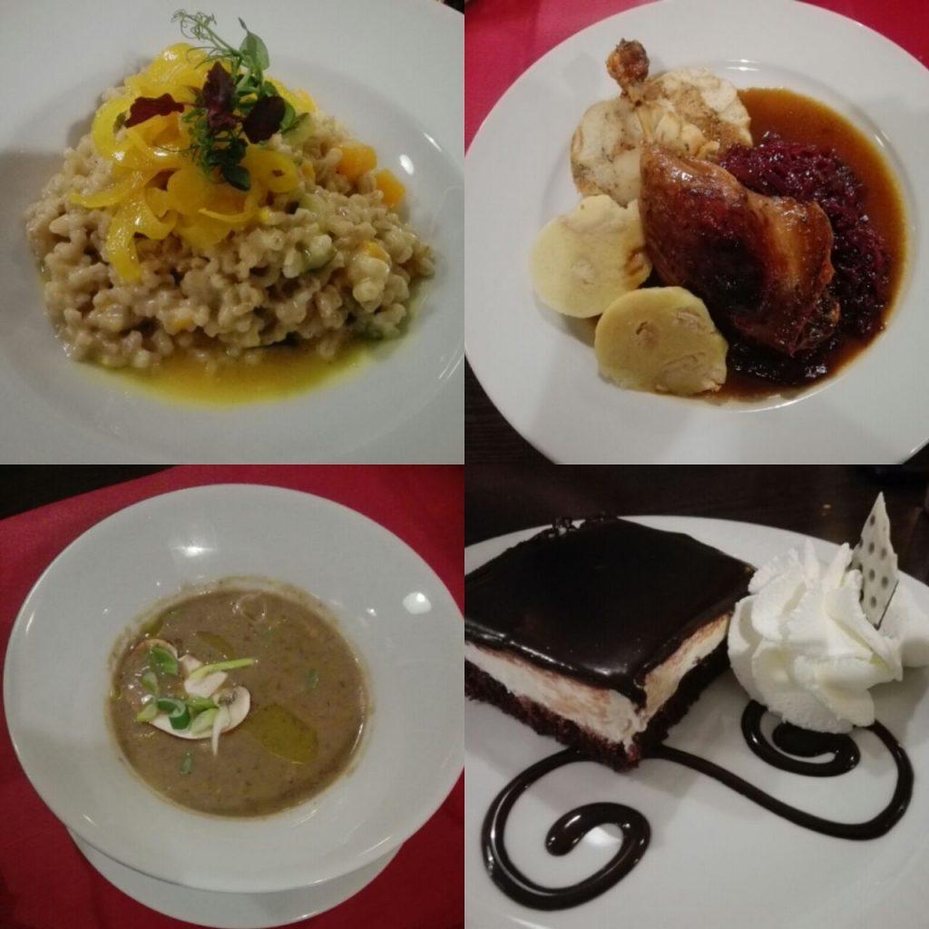 restaurante en Praga
